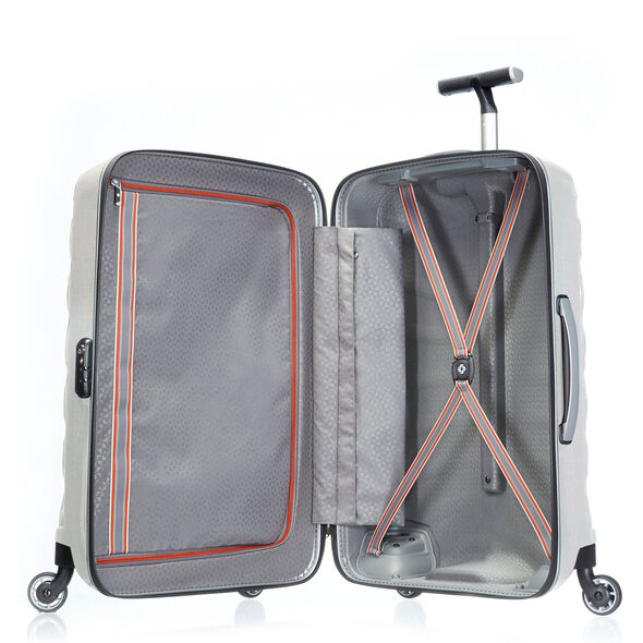 "Samsonite Black Label Firelite 28"" Spinner in the color Off White."