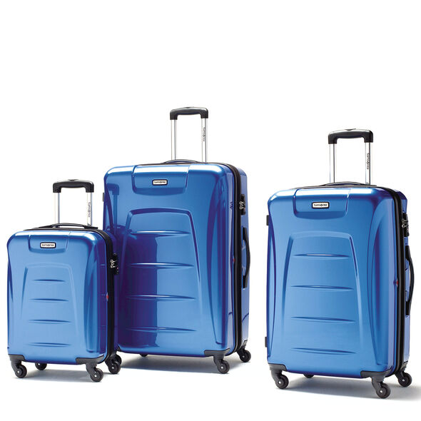 Samsonite Winfield 3 3 Piece Set in the color Blue.