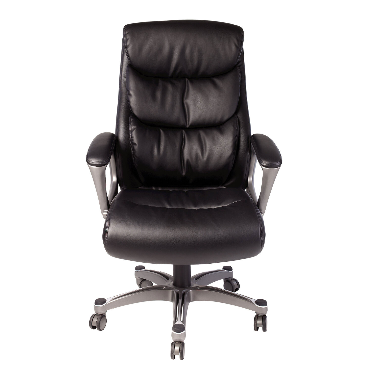 Samsonite Lisbon Bonded Leather Chair in the color Black