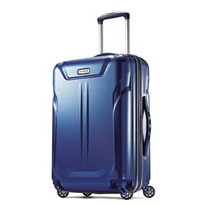 "Samsonite Lift2 20"" Hardside Widebody Spinner in the color Blue."