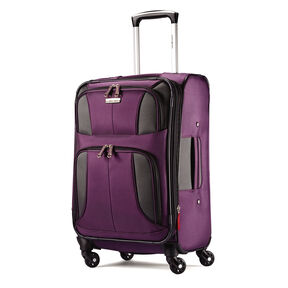 "Samsonite Aspire XLite 20"" Spinner in the color Potent Purple."