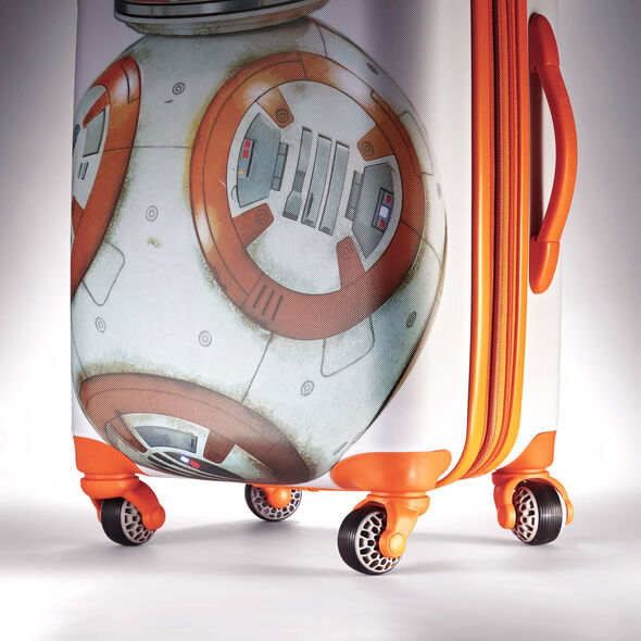 """American Tourister Star Wars 20"""" Spinner in the color BB8 All Ages."""