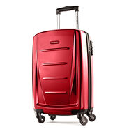 "Samsonite Reflex 2 20"" Carry On Spinner in the color Burgundy."