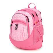 High Sierra Fat Boy Backpack in the color Block Print/ Pink Lemonade.