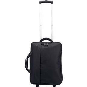 """Lipault Plume Business 20"""" Upright Carry On Garment Bag in the color Black."""