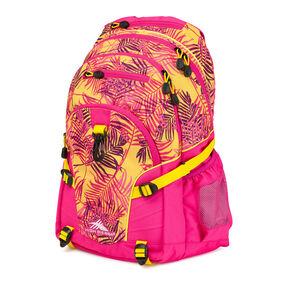 High Sierra Loop Backpack in the color Paradise/ Flamingo/Sunburst.