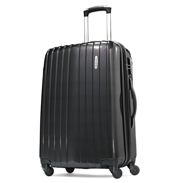 "Samsonite Carbon1 DLX 24"" Expandable Spinner in the color Silver - Exclusive."