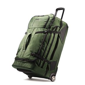 "Boyt Edge 30"" Drop Bottom Wheeled Duffel in the color Forest Green."