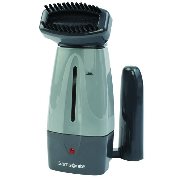 Samsonite Garment Steamer in the color Grey.