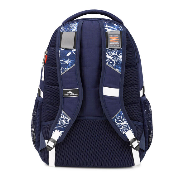 High Sierra Swerve Backpack in the color Enchanted Navy.