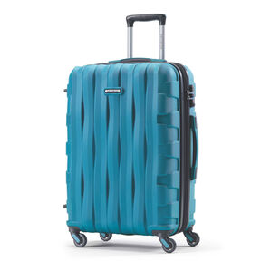 Samsonite Prestige 3D Spinner Large in the color Turquoise.