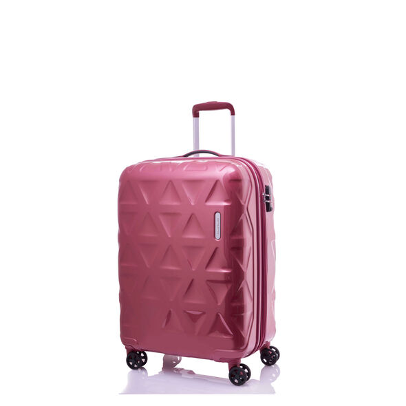 "Samsonite Novus 20"" Spinner in the color Red Bean."