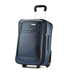 Samsonite 2 Piece Upright Set in the color blue.