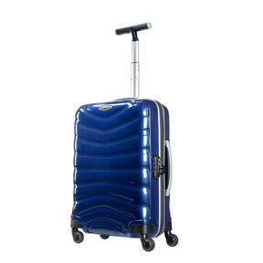 "Samsonite Black Label Firelite 20"" Spinner in the color Deep Blue."