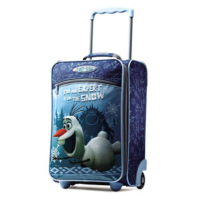"American Tourister Disney 18"" Softside Upright in the color Olaf."