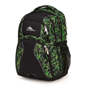 High Sierra Swerve Backpack in the color Digital Web/Black.