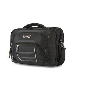 High Sierra SBT TSA Briefcase in the color Black.