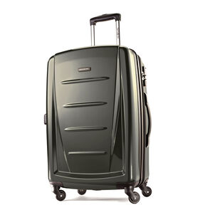 "Samsonite Reflex 2 24"" Expandable Spinner in the color Graphite."