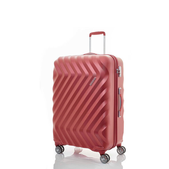 "Z-Lite DLX 20"" Spinner in the color Autumn Red."