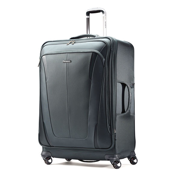 "Samsonite Silhouette Sphere 2 29"" Spinner in the color Cypress Green."