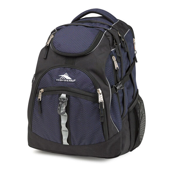 High Sierra Access Backpack in the color True Navy.