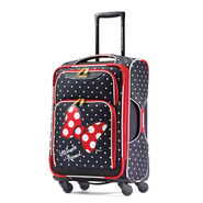 "American Tourister Disney Minnie Mouse 19"" Spinner in the color Minnie Mouse Red Bow."