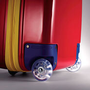 """American Tourister Disney 16"""" Hardside Upright in the color Mickey Mouse."""