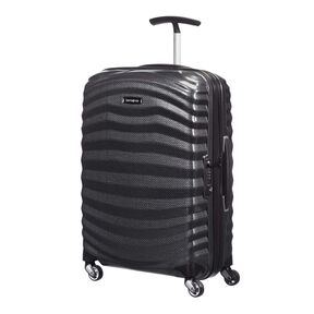 Samsonite Lite-Shock Spinner Carry-On in the color Black.