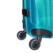 "Samsonite Black Label Cosmolite 32"" Spinner in the color Emerald Green."