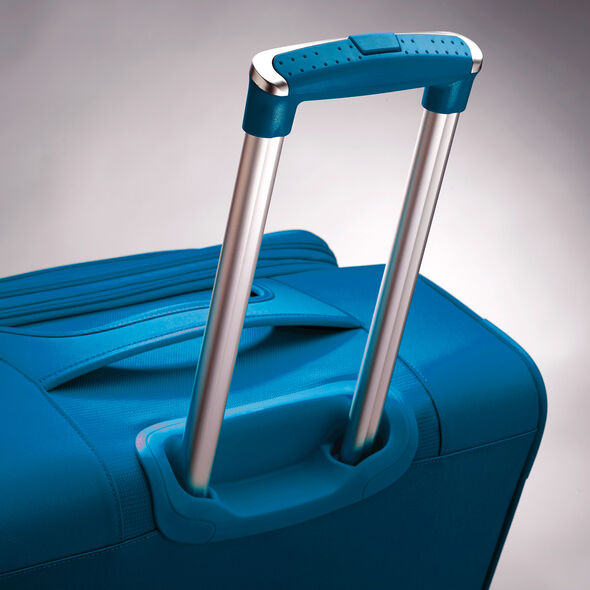 "American Tourister iLite Max 25"" Spinner in the color Light Blue."