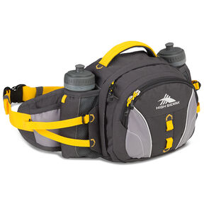High Sierra Classic 2 Series Ridgeline Waistpack in the color Mercury/Ash/Yellow.