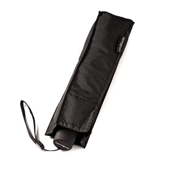Samsonite Manual Round Compact Umbrella in the color Black.