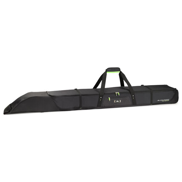 High Sierra Double Adjustable Ski Bag in the color Black/Zest.