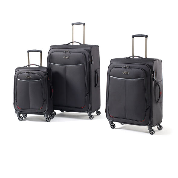 Samsonite Dura NXT Lite 3 Piece Set in the color Black.