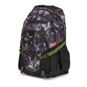 High Sierra Loop Backpack in the color Forrest/Black/Moss.