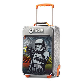 "American Tourister Disney 18"" Softside Upright in the color Storm Trooper."
