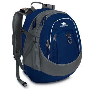 High Sierra Fat Boy Backpack in the color Blue Velvet/Charcoal.