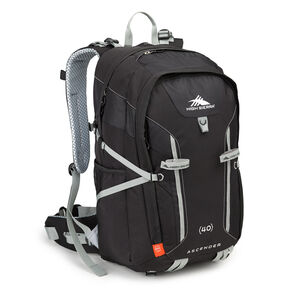High Sierra Classic 2 Series Ascender 40 Frame Pack in the color Black/Silver.