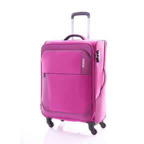 "American Tourister Warren 24"" Spinner in the color Warren Fuchsia."