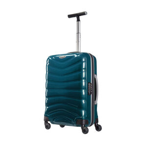 "Samsonite Black Label Firelite 20"" Spinner in the color Petrol Blue."
