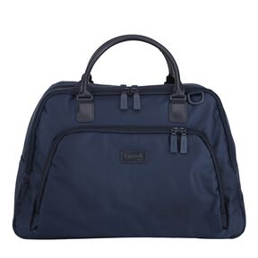 """Lipault Lady Plume 19"""" Weekend Tote in the color Navy."""
