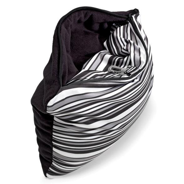 Samsonite CAN Accessories Magic 2 in 1 Pillow in the color Black/White Print.