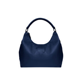 Lipault Lady Plume Hobo Bag (L) in the color Navy.