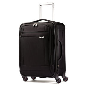 "Samsonite SoLyte 20"" Spinner in the color Black."
