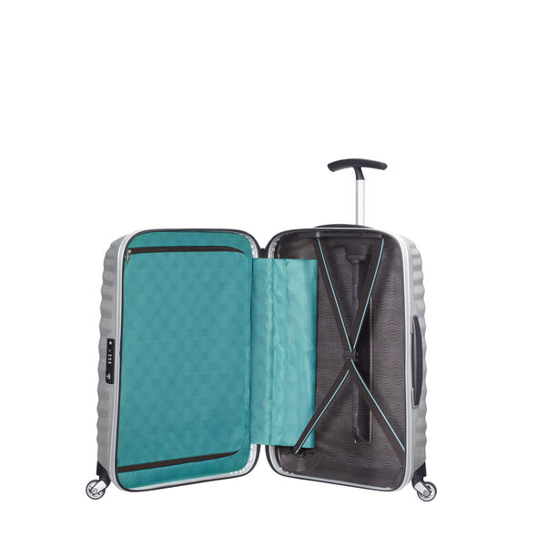 "Samsonite Black Label Lite-Shock 28"" Spinner in the color Silver."