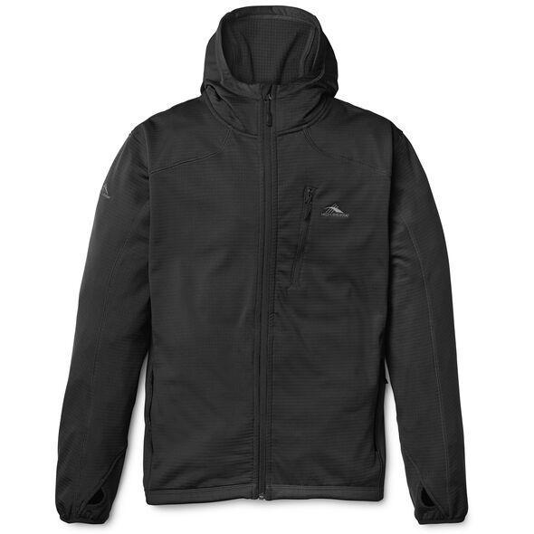 High Sierra Men's Conness Full Zip Hoodie in the color Black.