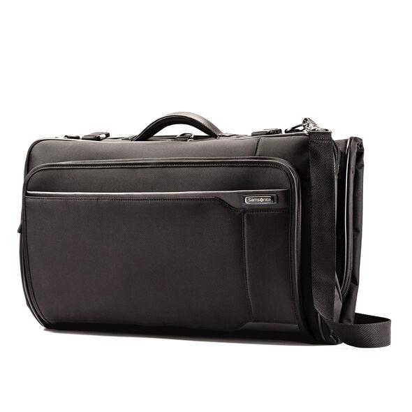 Samsonite Quadrion Trifold Garment Bag in the color Black.