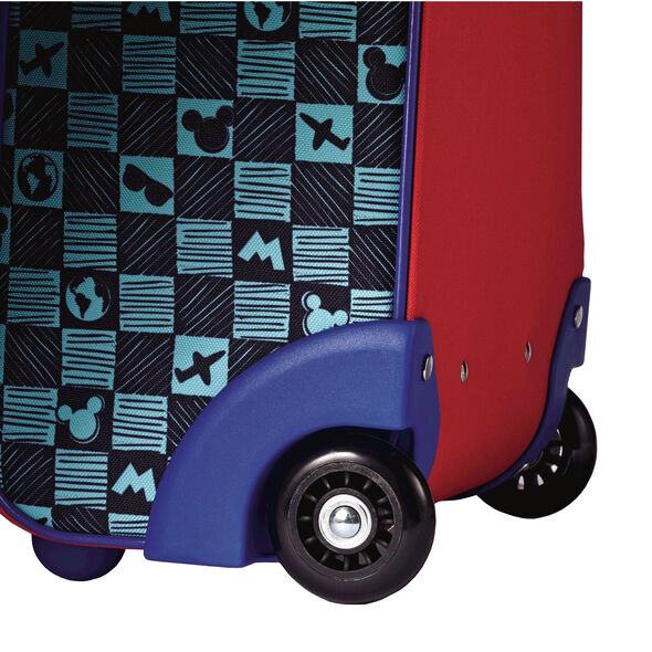 """American Tourister Disney 18"""" Softside Upright in the color Mickey Mouse."""