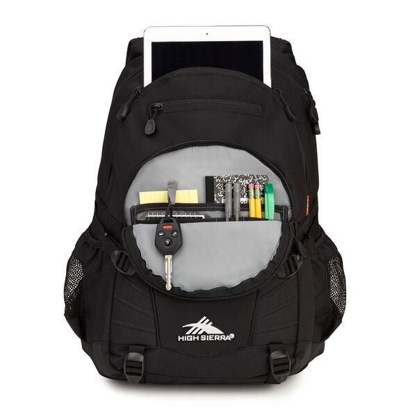 High Sierra Loop Backpack in the color Black.