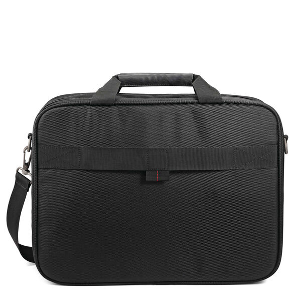 Samsonite Xenon 3.0 Two-Gusset Toploader in the color Black.
